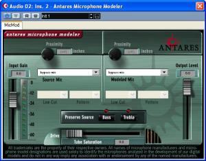 Antares Microphone Modeller